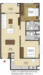 1190 sqft, 2 bhk Apartment in Brigade Xanadu Mogappair, Chennai at Rs. 0
