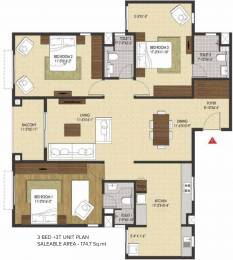1880 sqft, 3 bhk Apartment in Brigade Xanadu Mogappair, Chennai at Rs. 0