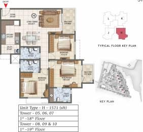 1571 sqft, 3 bhk Apartment in Prestige Lake Ridge Subramanyapura, Bangalore at Rs. 0