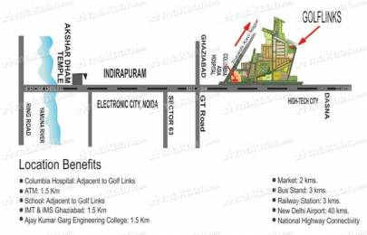 3 BHK Apartment with Swimming Pool and Reserved Car Parking