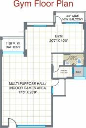 921 sqft, 2 bhk Apartment in Builder Project nagpur, Nagpur at Rs. 25.1086 Lacs