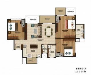 1512 sqft, 3 bhk Apartment in Purva Silversands Mundhwa, Pune at Rs. 93.2500 Lacs