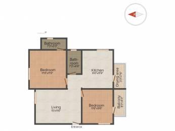 942 sqft, 2 bhk Apartment in Vivegam Aishwaryam Flats Urapakkam, Chennai at Rs. 38.0000 Lacs