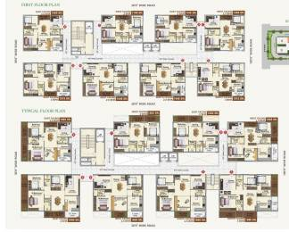 1107 sqft, 2 bhk Apartment in Builder Project Kukatpally, Hyderabad at Rs. 42.0000 Lacs