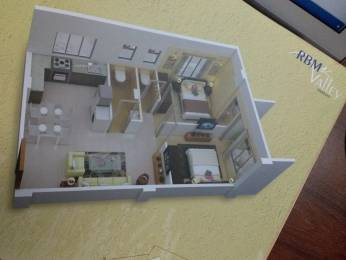 820 sqft, 1 bhk Apartment in RBM Valley Kaikhali, Kolkata at Rs. 41.4200 Lacs