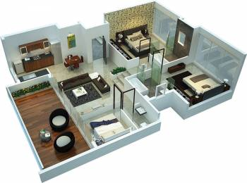 1978 sqft, 3 bhk Apartment in Rohan Leher Baner, Pune at Rs. 1.6700 Cr