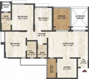 999 sqft, 1 bhk Apartment in Rama Melange Residences Hinjewadi, Pune at Rs. 56.0000 Lacs