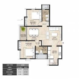 1079 sqft, 2 bhk Apartment in Builder Project Mahindra World City, Chennai at Rs. 39.9300 Lacs