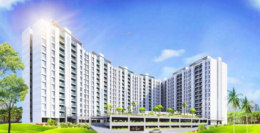 684 sqft, 1 bhk Apartment in Pegasus Megapolis Saffron A3 To A9 Hinjewadi, Pune at Rs. 37.0000 Lacs