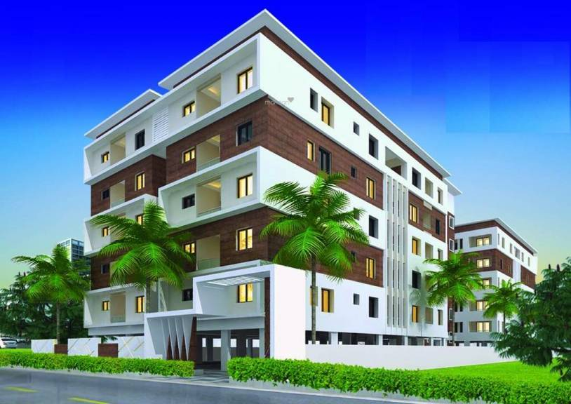 1500 sqft, 3 bhk Apartment in CMG East Woods Attapur, Hyderabad at Rs. 68.0000 Lacs