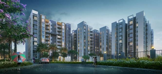 763 sqft, 2 bhk Apartment in Builder Project Rajarhat, Kolkata at Rs. 56.6370 Lacs