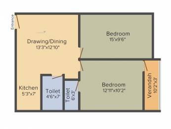 1774 sqft, 3 bhk Apartment in Builder Project Barasat, Kolkata at Rs. 40.8020 Lacs