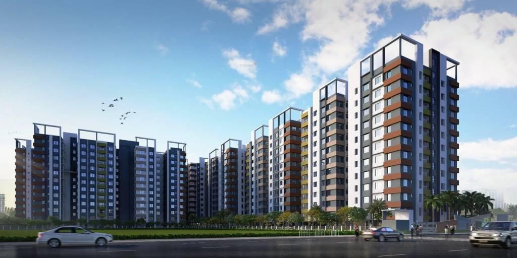 870 sqft, 1 bhk Apartment in Signum Windmere Madhyamgram, Kolkata at Rs. 26.3175 Lacs