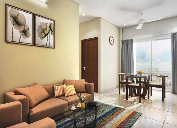750 sqft, 3 bhk Apartment in Eden Solaris City Serampore Serampore, Kolkata at Rs. 20.1278 Lacs
