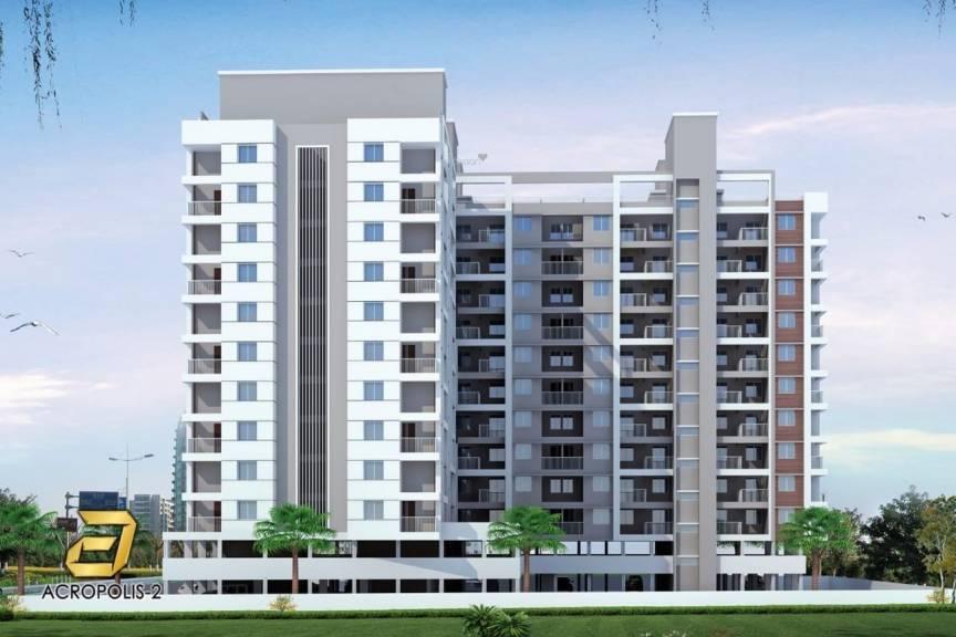 1050 sqft, 2 bhk Apartment in Millennium Acropolis 2 Wakad, Pune at Rs. 64.0000 Lacs