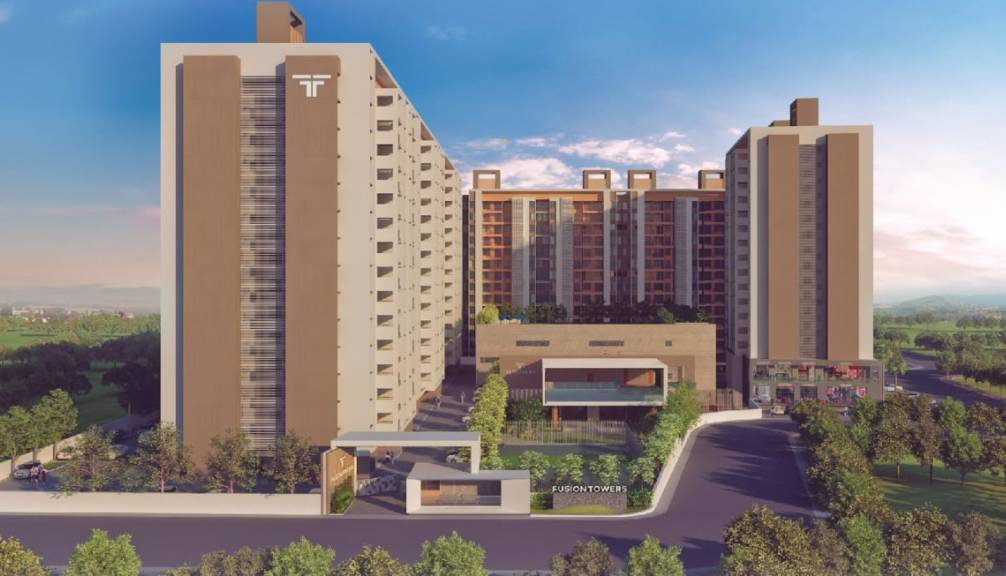 881 sqft, 2 bhk Apartment in Rama Fusion Towers Phase II Hinjewadi, Pune at Rs. 38.0000 Lacs