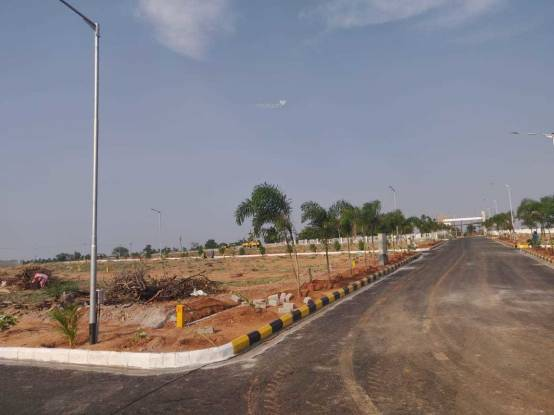 1620 sqft, Plot in Akshita Golden Breeze Maheshwaram, Hyderabad at Rs. 21.6000 Lacs
