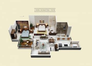 1022 sqft, 1 bhk Apartment in Legacy Fortune Exotica B Wing Ravet, Pune at Rs. 55.4041 Lacs