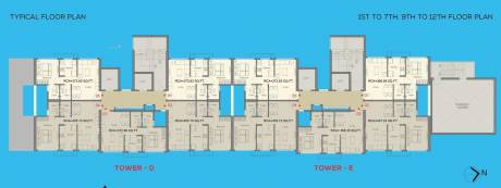 375 sqft, 1 bhk Apartment in A And O A And O Eminente Dahisar, Mumbai at Rs. 70.0000 Lacs