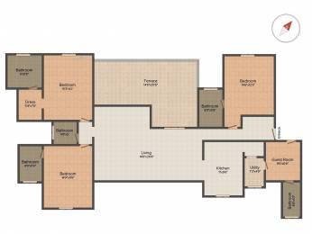 2565 sqft, 4 bhk Apartment in Marvel Isola NIBM Annex Mohammadwadi, Pune at Rs. 1.6000 Cr