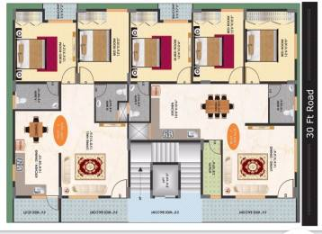 1091 sqft, 3 bhk Apartment in Builder Project Bommanahalli, Bangalore at Rs. 43.0000 Lacs