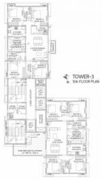 687 sqft, 2 bhk Apartment in NPR The Crown Tangra, Kolkata at Rs. 59.0440 Lacs