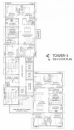 1101 sqft, 3 bhk Apartment in NPR The Crown Tangra, Kolkata at Rs. 91.6120 Lacs