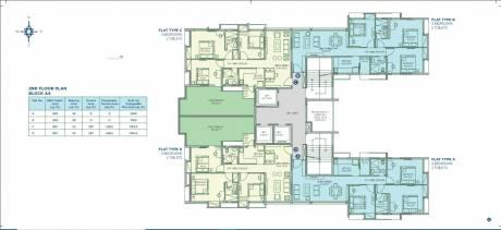 1100 sqft, 3 bhk Apartment in Sugam Morya Tollygunge, Kolkata at Rs. 86.3500 Lacs