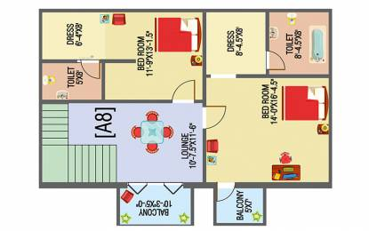 1081 sqft, 2 bhk Apartment in Builder Project Beeramguda, Hyderabad at Rs. 32.4300 Lacs