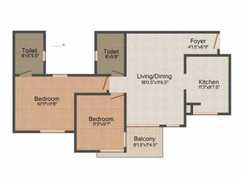 982 sqft, 1 bhk Apartment in Builder Project Thaiyur, Chennai at Rs. 39.0000 Lacs