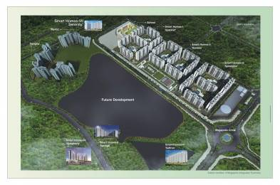 980 sqft, 2 bhk Apartment in Megapolis Serenity A1 To A7 B1 And Conv Shop A Hinjewadi, Pune at Rs. 47.0000 Lacs