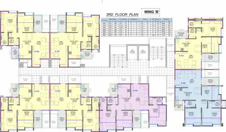 1156 sqft, 3 bhk Apartment in Shivam 19 Grand West Wing B Thergaon, Pune at Rs. 75.0000 Lacs