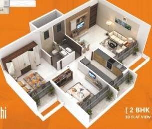 970 sqft, 2 bhk Apartment in Sankalp Siddhi Karanjade, Mumbai at Rs. 56.2600 Lacs