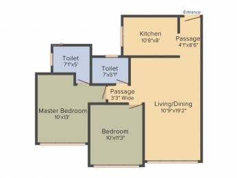 1204 sqft, 2 bhk Apartment in ACME Boulevard Andheri East, Mumbai at Rs. 1.8500 Cr