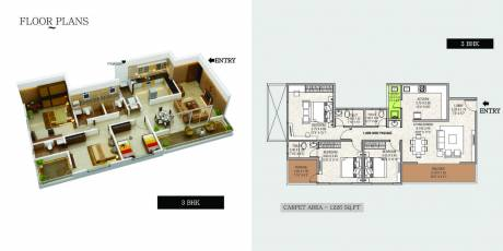 942 sqft, 2 bhk Apartment in Bharat The Province Phase I Tathawade, Pune at Rs. 44.5000 Lacs