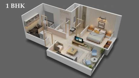 1065 sqft, 3 bhk Apartment in Majestique Rhythm County Phase 1 Handewadi, Pune at Rs. 44.0000 Lacs