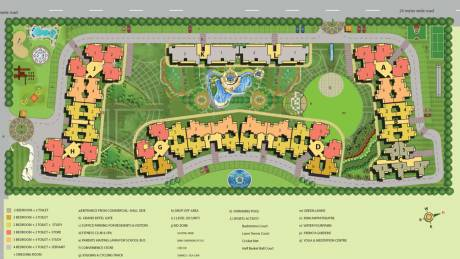 1250 sqft, 3 bhk Apartment in Anthem French Apartments Sector 16B Noida Extension, Greater Noida at Rs. 44.2500 Lacs