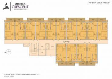 360 sqft, 1 rk Apartment in Sushma Elite Cross Dhakoli, Zirakpur at Rs. 13.9000 Lacs