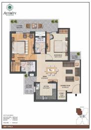 1250 sqft, 2 bhk Apartment in Affinity Greens PR7 Airport Road, Zirakpur at Rs. 55.0000 Lacs