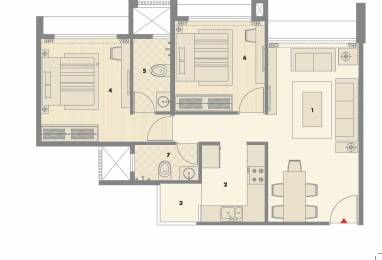 1060 sqft, 2 bhk Apartment in Pacifica North Enclave Near Vaishno Devi Circle On SG Highway, Ahmedabad at Rs. 38.0000 Lacs