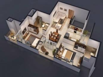 1234 sqft, 1 bhk Apartment in Builder Project Velachery, Chennai at Rs. 1.1000 Cr