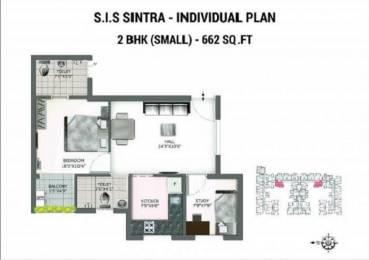 1057 sqft, 1 bhk Apartment in South India SIS Sintra Kolapakkam, Chennai at Rs. 49.6700 Lacs