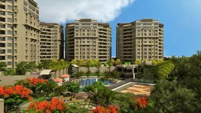 1100 sqft, 2 bhk Apartment in Kumar Kumar Kruti Kalyani Nagar, Pune at Rs. 26000