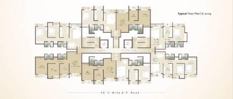 730 sqft, 1 bhk Apartment in Unique Estate Mira Road East, Mumbai at Rs. 60.0000 Lacs