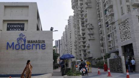 1350 sqft, 3 bhk Apartment in Mahagun Moderne Sector 78, Noida at Rs. 90.0000 Lacs