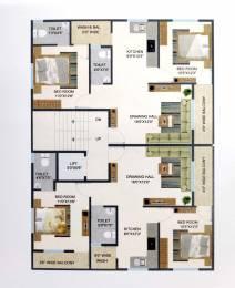 1050 sqft, 2 bhk Apartment in Builder Project KT Nagar, Nagpur at Rs. 44.0000 Lacs