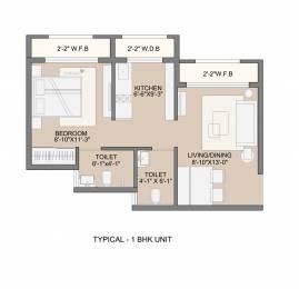 450 sqft, 1 bhk Apartment in Sunteck MaxxWorld 2 Tivri Naigaon East Naigaon East, Mumbai at Rs. 24.7500 Lacs