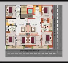 1050 sqft, 3 bhk Apartment in Builder Project Shahdara, Delhi at Rs. 65.0000 Lacs