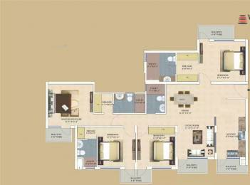 2273 sqft, 4 bhk Apartment in TDI Wellington Heights Sector 117 Mohali, Mohali at Rs. 95.4600 Lacs