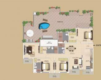 2810 sqft, 4 bhk Apartment in TDI Wellington Heights Sector 117 Mohali, Mohali at Rs. 1.1800 Cr